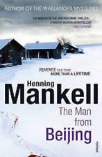 HENNING MANKELL _ THE MAN FROM BEIJING _ WALLENDER __ BRAND NEW __ FREEPOST UK