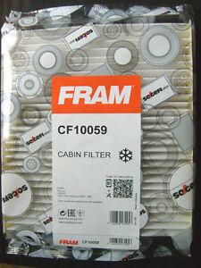 FRAM CF10059 Cabin Filter: Ford Focus II & Volvo C30/C70/S Series/S40 II/V50.