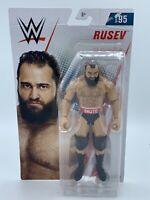 WWE Mattel Basic Core Series 95 Wrestling Action Figure RUSEV Mattel SHIP IN BOX
