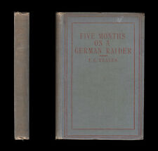 1919 FIVE MONTHS ON GERMAN RAIDER Englishman Captured SMS WOLF Auxiliary Cruiser