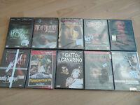 LOTTO 10 DVD HORROR/THRILLER 8 SIGILLATI E 2 APERTI  ANNI '70 - '80 - '90 -'00