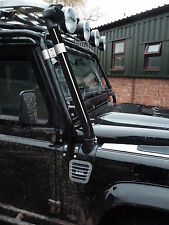 Land Rover Southdown Snorkel Def 200,300 Black Powder Coated Stainless Pipe
