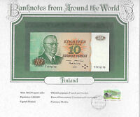 World Banknotes Finland 1980 10 Markkaa P 111a.38 UNC Alenius - Koivikko