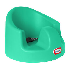 Little Tikes My First Seat Infant Toddler Foam Floor Support Baby Chair, Teal