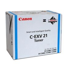 Original Canon C-EXV21C Cyan Ir C2550 C2880 C3080 C3380 C3480 0453B002 Neuf