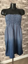 Strapless Bandeau Style Summer Dress Size S Atmosphere