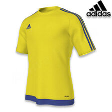 Adidas estro 15 camiseta manga corta Niños amarillo azul 164