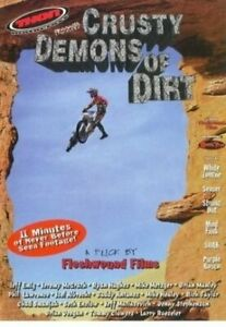 Crusty Demons of Dirt THOR DVD RARE OOP - Motocross MX - LAST ONE AVAILABLE !