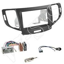Honda Accord CU/CW ab11 Doppel-DIN Radioblende + Autoradio ISO Adapter Einbauset