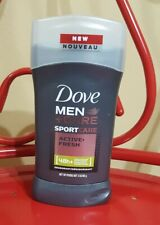 Dove Men+Care Sport Antiperspirant Deodorant Stick Active+Fresh 3 oz.