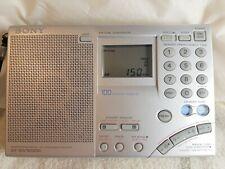 Sony ICF-SW7600GR World Band AM/FM Receiver/Radio & Sony AN-71 Antenna.