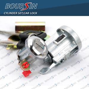 Lock Cylinder Set With Key For ISUZU NPR NPR-HD NQR NKR ELF 1994-07 W/ Clip