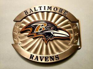 Siskiyou 2009 NFL Baltimore Ravens Belt Buckle NFL Free Shippin