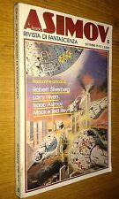 ISAAC ASIMOV #  1-RIVISTA DI FANTASCIENZA-1981-SIAD EDIZIONI-SILVERBERG-SR36