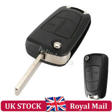 2 Button Remote Key Fob Case + Blade For Vauxhall Opel Astra H Corsa C Zafira B