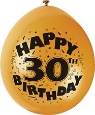 MIX PARTY Pack per decorazione festa con tanti auguri Stampato Palloncini 30 anni