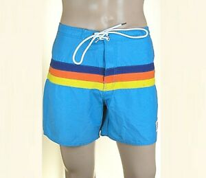Pantaloncini Mare Uomo Costume FRANKLIN & MARSHALL L017 Azzurro Tg XS S M L XL