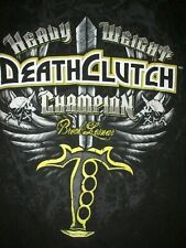 Brock Lesnar Heavyweight Champion Death Clutch T Shirt Sz M MMA UFC WWE Fighter