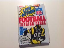 1986 Fleer Football Wax Pack Fresh From Box!  VERY RARE