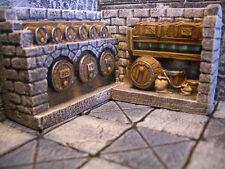 Wine Cellar Thomarillion Unpainted Resin Terrain D&D Dwarven Forge