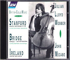 Julian LLOYD WEBBER: STANFORD BRIDGE IRELAND Cello Sonata Elegy CD John McCabe