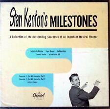 STAN KENTON - MILESTONES - CAPITOL LABEL - (4) 45'S - BOX SET