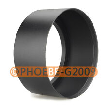 77mm Tele Metal Screw-in Lens Hood For Canon Nikon Sony Olympus Camera