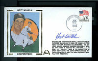 Hoyt Wilhelm Autographed FDC Entered into Hall of Fame Cancelled in Cooperstown!