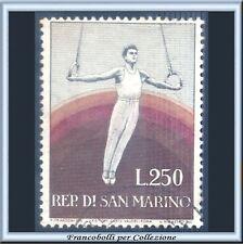 1955 San Marino L. 250 Propaganda Sportiva IIª n. 419 Usato Anelli Sport [2]