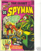 Spyman #2 FR 1966 early Steranko comics work scarce Harvey Comics Silver age