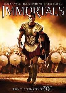 Immortals DVD, Mickey Rourke, Henry Cavill, Tarsem Singh
