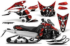 Snowmobile Graphics Kit Decal Sticker Wrap For Yamaha FX Nytro 08-14 REAPER RED