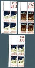 LIECHTENSTEIN - 1992 - Natale. Cappelle di Triesen e bassorilievo in quartina