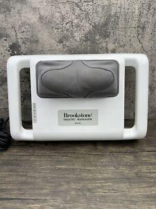 Brookstone Shiatsu Home Portable Kneading Massager AHP-K5 Neck Shoulders Tested