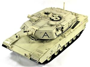 2007 Unimax QTA007 Forces of Valor M1A1 Abrams US 1/18 Military Tank 17""