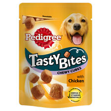 PTD Pedigree C&t Tasty Bites Chewy Cubes 130g (Pack of 8)