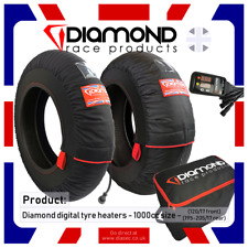 DIAMOND RACE PRODUCTS - DIGITAL TYRE HEATERS / WARMERS TO FIT 1000cc - 120 / 200