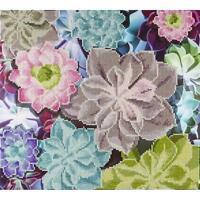 LEISURE ARTS Diamond Dotz Art Embroidery Painting Kit SUCCULENTS Cactus