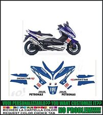 kit adesivi stickers compatibili  tmax 2008 2011 fiat moto gp m1