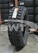 4 New Thunderer Trac Grip M/T Mud Tires 2757018,275/70/18,27570R1 8
