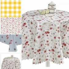 Wipe Clean PVC Table Cloth Waterproof Table Cloth Cover Protector Dining Kitchen