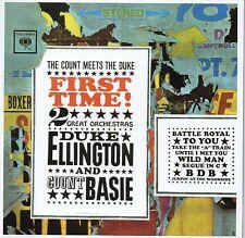 CD Duke ELLINGTON Count BASIE First Time! The Count Meets the Duke MINI LP CARDS