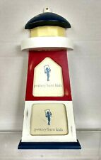 Pottery barn kids Picture Frame Lighthouse distressed table top desk stand