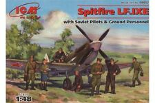 ICM 48802 1/48 Spitfire LF.IXE with Soviet Pilots and Ground Personnel