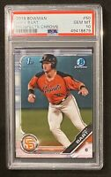 2019 Bowman Chrome #50 Joey Bart SAN FRAN Giants RC Rookie GEM MINT PSA 10 🔥📈