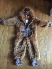 Chrisha Playful Plush GORILLA HAUNTED HALLOWEEN COSTUME SIZE AGES 2-4