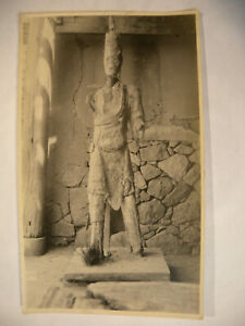 1920's Original Chinese Missionary Photograph Statue In Shrine