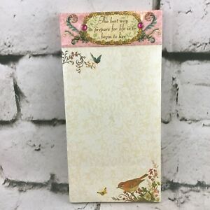Punch Studio The Gifted Line Magnetic Notepad List Pad #92827 Sealed