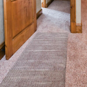 "4ft Hallway Carpet Protector Runner Vinyl Plastic Mat Guard Home Office 27"" Wide"