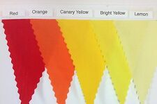 Lace on Fabric Bunting - Choose your own Colours and Length - parties, weddings